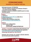 COMUNICADO - INGRESO AL CAMPUS VIRTUAL