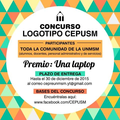 Centro Preuniversitario Unmsm Concurso Logotipo Cepusm