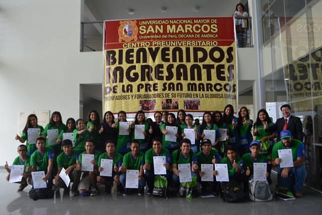 Centro Preuniversitario Unmsm Fotos Entrega