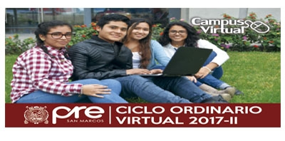 MATRICULA CICLO ORDINARIO VIRTUAL 2017-II