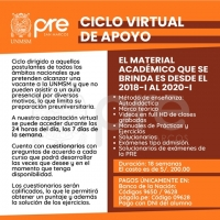 MATRICULA CICLO VIRTUAL DE APOYO