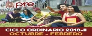 MATRICULA CICLO ORDINARIO 2018-II