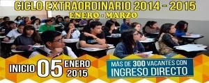 MATRICULA CICLO EXTRAORDINARIO 2014-2015