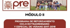 MATRICULA CICLO REFORZAMIENTO VERANO MODULO II