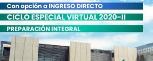 MATRÍCULAS ABIERTAS CICLOS ORDINARIO Y ESPECIAL 2020-II