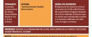 PRIMER EXAMEN CICLO EXTRAORDINARIO 2017-2018 - TEMARIO, FECHA Y HORA ENTRADA