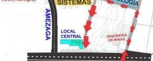 MAPA DE ACCESO A LOCAL CENTRAL DE CIUDAD UNIVERSITARIA