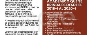 MATRICULA CICLO VIRTUAL DE APOYO