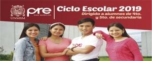 MATRICULA CICLO ESCOLAR 2019