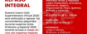 MATRICULA CICLO SUPERINTENSIVO VIRTUAL 2021