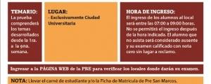 SEGUNDO EXAMEN CICLO ORDINARIO 2017-II - TEMARIO, FECHA Y HORA ENTRADA
