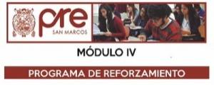 MATRICULA CICLO REFORZAMIENTO MODULO IV