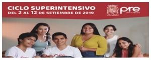 MATRICULA CICLO SUPERINTENSIVO (ADMISIÓN 2020-I)