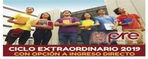 MATRICULA CICLO EXTRAORDINARIO 2019
