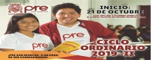 MATRICULA CICLO ORDINARIO 2019-II
