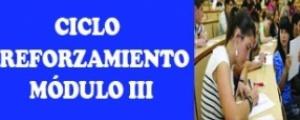 MATRÍCULA CICLO REFORZAMIENTO - MÓDULO III