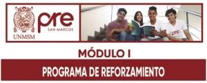 MATRICULA CICLO REFORZAMIENTO MÓDULO I