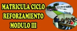 MATRICULA CICLO REFORZAMIENTO 2015-I - MODULO III